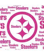Pittsburgh Steelers Pink Blast Apple AirPods Skin