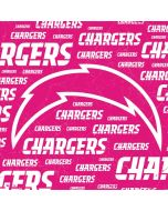 Los Angeles Chargers Pink Blast Amazon Echo Skin