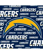 Los Angeles Chargers Blue Blast Amazon Echo Skin