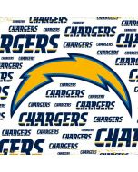 Los Angeles Chargers White Blast Xbox One Console Skin