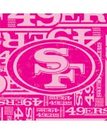 San Francisco 49ers - Blast Pink Galaxy Grand Prime Skin