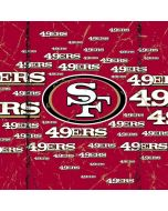 San Francisco 49ers Blast Asus X202 Skin