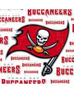 Tampa Bay Buccaneers White Blast Apple iPad Skin