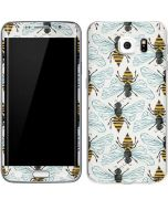 Honey Bee Galaxy S6 Edge Skin