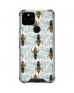 Honey Bee Google Pixel 5 Clear Case