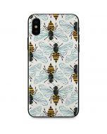 Honey Bee iPhone X Skin