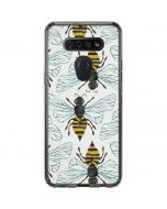 Honey Bee LG K51/Q51 Clear Case