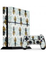 Honey Bee PS4 Console and Controller Bundle Skin