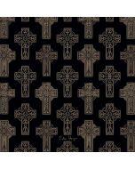 Celtic Crosses Black Generic Laptop Skin