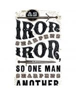 Iron Sharpens Iron Apple iPod Skin