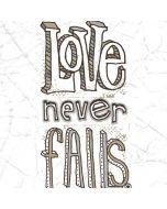 Love Never Fails Apple iPad Air Skin
