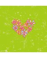 Daisy Heart Apple iPod Skin