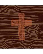 Rugged Wooden Cross Amazon Echo Skin