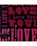 I Love You! Amazon Echo Skin