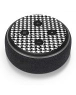 Houndstooth Black/White Amazon Echo Dot Skin