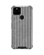 Houndstooth Black/White Google Pixel 5 Clear Case
