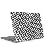 Houndstooth Black/White Apple MacBook Air Skin