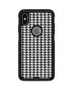 Houndstooth Black/White Otterbox Commuter iPhone Skin