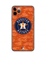 Houston Astros Digi Camo iPhone 11 Pro Max Skin