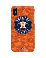Houston Astros Digi Camo iPhone XS Max Lite Case