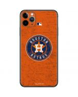 Houston Astros Distressed iPhone 11 Pro Max Skin