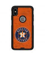 Houston Astros Distressed Otterbox Commuter iPhone Skin