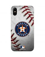 Houston Astros Game Ball iPhone XS Max Lite Case