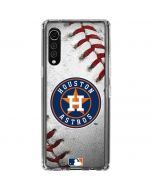 Houston Astros Game Ball LG Velvet Clear Case