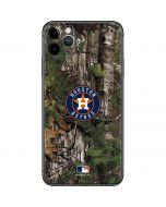 Houston Astros Realtree Xtra Green Camo iPhone 11 Pro Max Skin