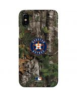 Houston Astros Realtree Xtra Green Camo iPhone XS Max Lite Case