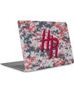 Houston Rockets Digi Camo Apple MacBook Air Skin