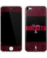 Houston Rockets Elephant Print Apple iPod Skin