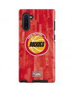 Houston Rockets Hardwood Classics Galaxy Note 10 Pro Case