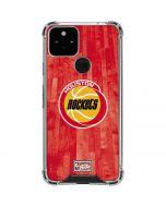 Houston Rockets Hardwood Classics Google Pixel 5 Clear Case