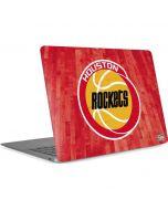 Houston Rockets Hardwood Classics Apple MacBook Air Skin