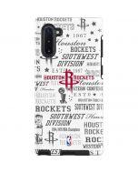 Houston Rockets Historic Blast Galaxy Note 10 Pro Case
