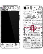 Houston Rockets Historic Blast Apple iPod Skin