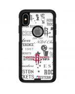 Houston Rockets Historic Blast Otterbox Commuter iPhone Skin