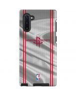 Houston Rockets Home Jersey Galaxy Note 10 Pro Case