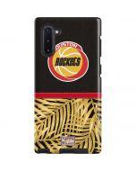Houston Rockets Retro Palms Galaxy Note 10 Pro Case
