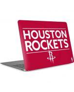 Houston Rockets Standard - Red Apple MacBook Air Skin