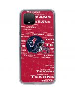 Houston Texans - Blast Google Pixel 4 Clear Case