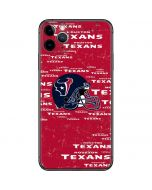 Houston Texans - Blast iPhone 11 Pro Max Skin