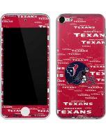 Houston Texans - Blast Apple iPod Skin