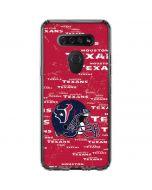 Houston Texans - Blast LG K51/Q51 Clear Case