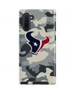 Houston Texans Camo Galaxy Note 10 Pro Case