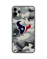 Houston Texans Camo iPhone 11 Pro Max Skin