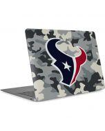 Houston Texans Camo Apple MacBook Air Skin