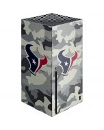Houston Texans Camo Xbox Series X Console Skin