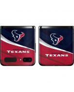 Houston Texans Galaxy Z Flip Skin